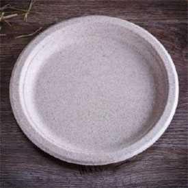 Тарелка из пшеничной cоломы BIO PLATE WH 231, ТМ Do Eco (Россия)