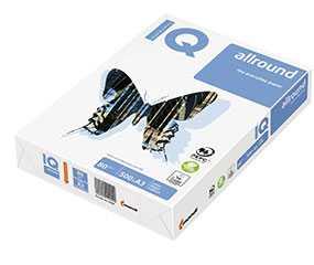 Бумага офисная IQ Allround А3, 80 г/м2, 500 л/пачке, класс B+ - Mondi