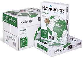 Бумага офисная Navigator Universal А4, 80 г/м2, 500 л, класс A+ - Portucel Soporcel