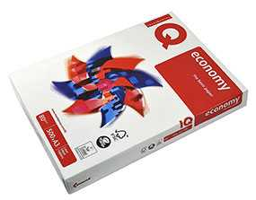 Бумага офисная IQ Economy А3, 80 г/м2, 500 л/пачке, класс C+ - Mondi