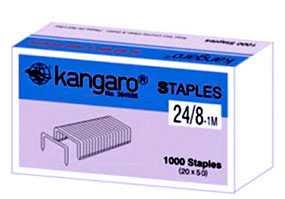 Скоба для степлера №24/8 Kangaro, 1000 шт - KANGARO INDUSTRIES