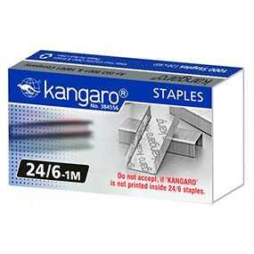Скоба для степлера №24/6 Kangaro, 1000 шт - KANGARO INDUSTRIES