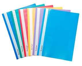 Папка-скоросшиватель пластиковая Berlingo (прозрачный верх), формат А4, 140/180 мкм - BERLINGO