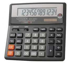 Калькулятор бухгалтерский Citizen SDC 660, 16 разрядов - CITIZEN