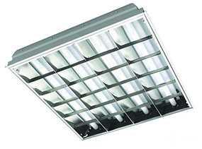 Светильник накладной люминесцентный ЛВО-Classic/R 218,236,418 - Саранская Светотехническая Компания