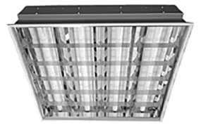 Светильник ЛВО418 D ECP (ЛВО/595х595/зеркальный растр/ЭПРА/EEI=A3) - Технолюкс