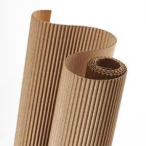 Гофрокартон двуслойный в рулонах, ширина 1050 мм, ТУ 5441-045-05771564-07 - Вельгийская бумажная фабрика