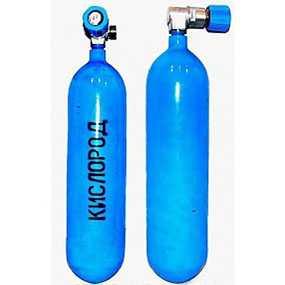 Кислород газообразный медицинский 99,5% 6,3 м3 в баллонах - Светлогорскхимволокно