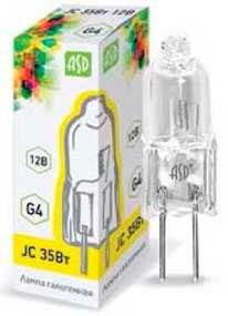 Лампа галогенная JC, 10 Вт- Электроаппарат