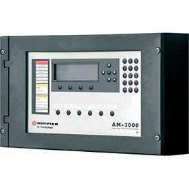 Приемно-контрольный пожарный прибор AM-2000N - NOTIFIER