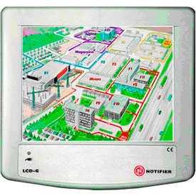 Приемно-контрольный пожарный прибор LCD-6000G - NOTIFIER