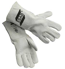 Перчатки (краги) сварщика Heavy Duty Basic, серые - ESAB