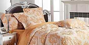 Белье постельное, модель ЭЛЕГАНТ (лоза-медовый) - Лангхайнрих Конфекцион Бел