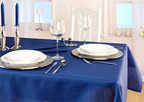 Набор столового белья Meran blau - Лангхайнрих Конфекцион Бел