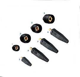 Штекер кабельный АВI-CM 10-25 - ABICOR BINZEL