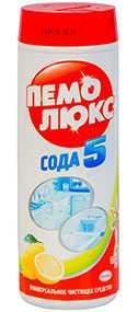 Средство чистящее ПЕМОЛЮКС порошок, 480 г, Лимон - Henkel (Россия)