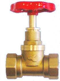 Вентиль латунный муфтовый 15Б1п - Цветлит