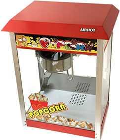 Аппарат для попкорна AIRHOT POP-6 - Airhot