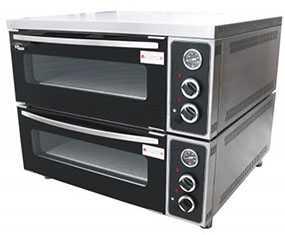 Печь для пиццы 2 камерная ППЭ/2 MASTER GRILL (ГРИЛЬ МАСТЕР) на 8 пицц - Grill Master