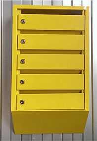 Ящик почтовый ПЯ-ВВ-4с - 380х580х190 - Мадагаскар