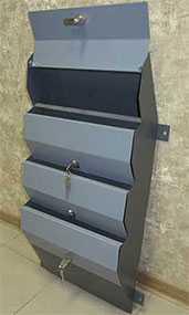 Ящик почтовый ПЯ-ГС-1Кр (1 секция) - 250х330х60 - Мадагаскар
