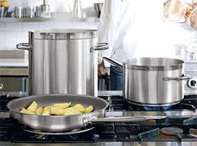 Посуда профессиональная наплитная