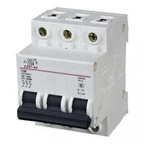 Автоматический выключатель EB(DZ47) 4,5кА 3Р C6 - Магистр (Беларусь)