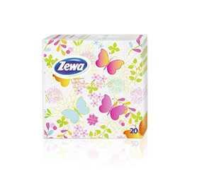 Салфетки бумажные Zewa Butterfly, 33х33 см, 20 шт - SCA Hygiene Products