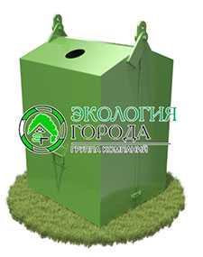 Контейнер для стеклобоя 1.215 м³ - ЗМК Экология города