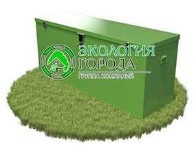 Контейнер для ртутьсодержащих отходов (1600х500х700) - ЗМК Экология города