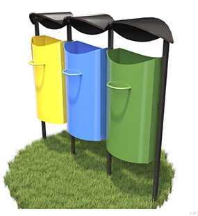 Комплекс для раздельного сбора отходов - ЗМК Экология города