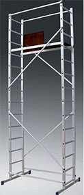 Вышка-тура алюминиевая 'Техно-5' 4207 (3,93х1,2х1,4)