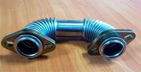 Трубка рециркуляции газов Д245 евро 4 (короткая) - Минский Моторный Завод