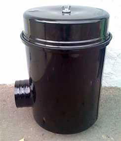Фильтр воздушный в сборе 5337-1109510, без фильтрующего элемента - ОАО РЕМИЗ