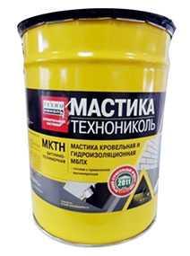 Мастика битумно-полимерная холодная МКТН, ведро 10 кг - ТехноНИКОЛЬ
