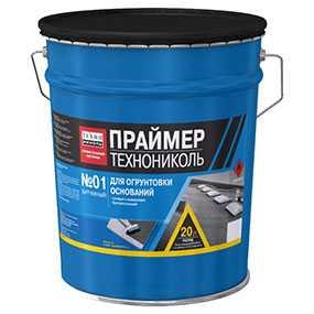 Праймер битумный, ведро 20 л - ТехноНИКОЛЬ