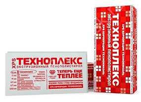 Пенополистирол экструзионный XPS, 580х1180х20 мм - ТЕХНОПЛЕКС