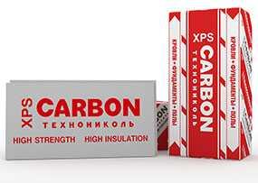Пенополистирол экструзионный XPS CARBON PROF 300, 580х1180х20 мм - ТЕХНОПЛЕКС