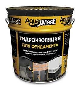 Мастика битумно-резиновая холодная AquaMast, ведро 3 кг - ТехноНИКОЛЬ