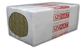 Плита минераловатная теплоизоляционная Izovat 120 1000х600 30 мм - Izovat