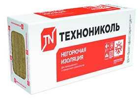 Плита минераловатная теплоизоляционная Технофас, 1200х600х50 мм - ТехноНИКОЛЬ