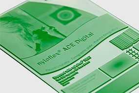 Фотополимерная цифровая пластина для флексографской печати nyloflex® ACE Digital (толщина пластины=1,70 мм) - FLINT GROUP