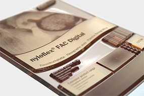 Фотополимерная цифровая пластина для флексографской печати nyloflex® FAC Digital (толщина пластины=6,35 мм) - FLINT GROUP