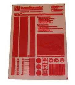 Фотополимерная цифровая пластина для высокой печати nyloprint® WF Digital (толщина пластины=0,80 мм) - FLINT GROUP