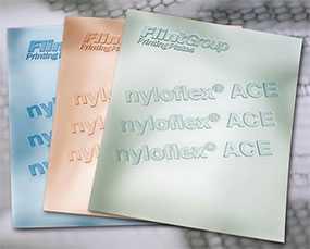 Фотополимерная аналоговая пластина для флексографской печати nyloflex® ACE (толщина пластины=1,14 мм) - FLINT GROUP
