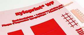 Фотополимерная аналоговая пластина для высокой печати nyloprint® WF (толщина пластины=0,95 мм) - FLINT GROUP