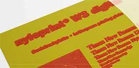 Фотополимерная аналоговая пластина для высокой печати nyloprint® WS (толщина пластины=0,73 мм) - FLINT GROUP