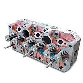Головка блока цилиндров (Гбц) Д 260 евро 3, под свечи накал 260-1003012-А2-01
