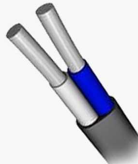 Кабель АВВГ-П 2х6