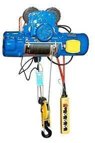Таль электрическая CD1, грузоподъемность 1.0 т, высота подъема 12 м